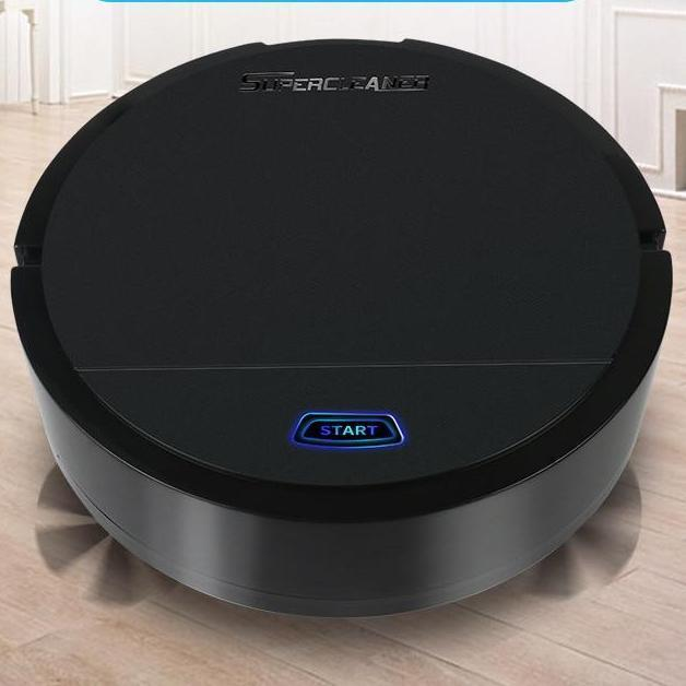Rechargeable Auto Cleaning Vacuum Cleaner - Smart Sweeping Robot - Gem Owl