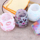 Silicone Wine Glass Unbreakable Stemless Beer Rubber Cup BPA Free - Gem Owl