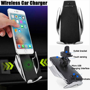 Auto Clamping Car Charger - Gem Owl
