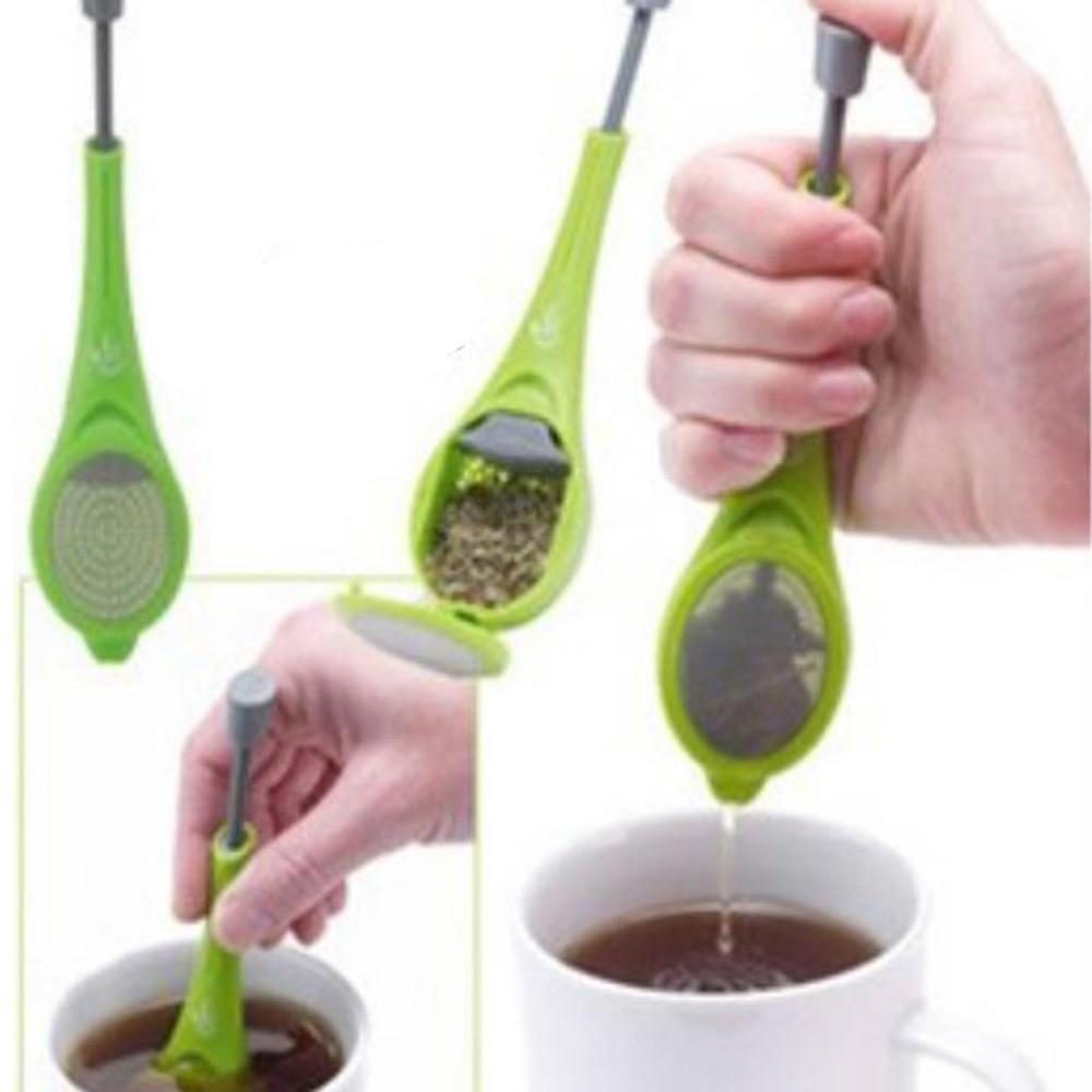Tea Infuser w/ Built In Plunger - Gem Owl