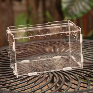 Terrarium Reptile Terra Breeding Stackable Enclosure - Gem Owl