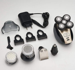 5 In 1 4D Electric Head Shaver - Gem Owl