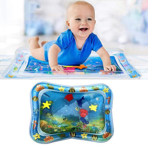 Baby Tummy Time Water Mat - Inflatable Pad - Gem Owl