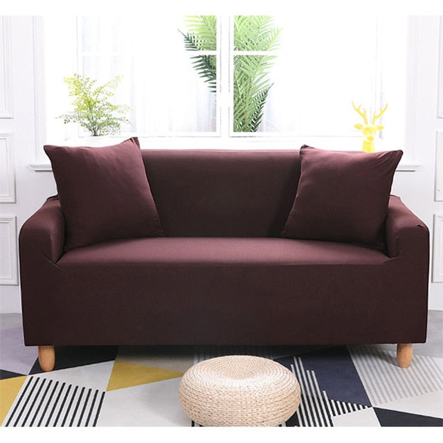Sofa Spanx Slipcover For Loveseat and Sectional- Gem Owl