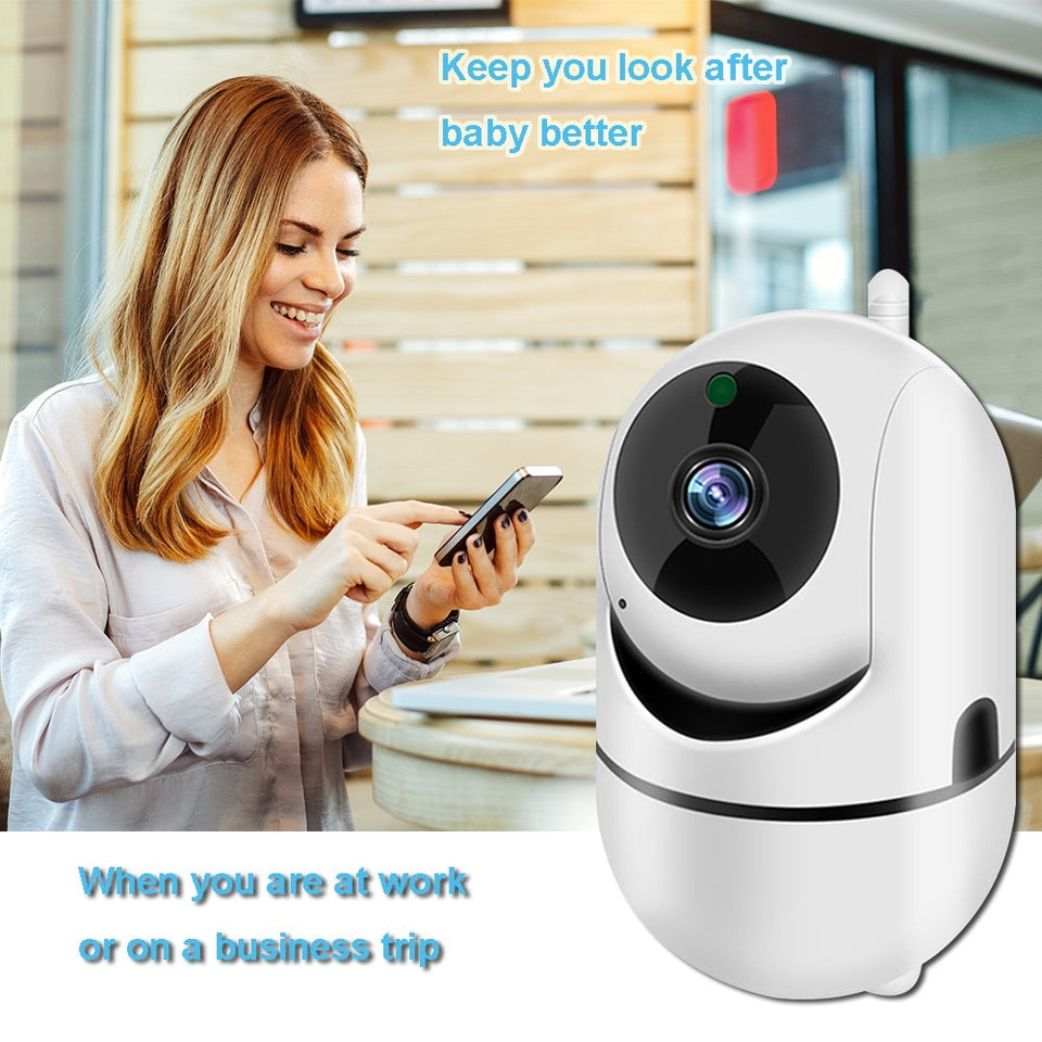 1080P Wireless Baby Monitor Camera and Audio with Night Vision