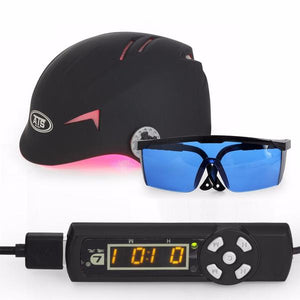 68 Medical Diodes Laser Hair Growth Helmet Hair Fast Regrowth LLLT Laser Cap - Gem Owl
