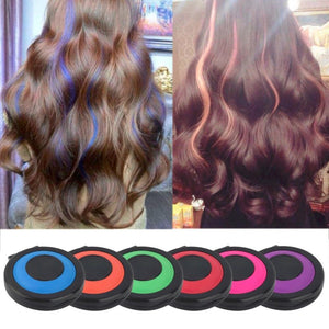 Clip Chalk - Professional Fast Temporary Hair Color! - Gem Owl