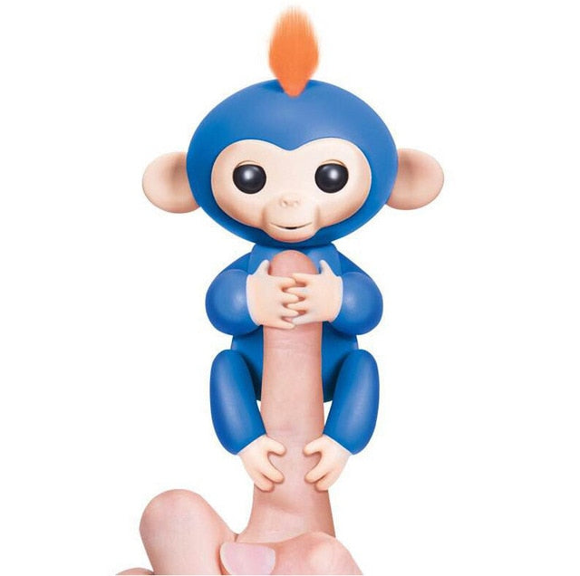 Interactive Fingerlings Cute Baby Monkey - Gem Owl