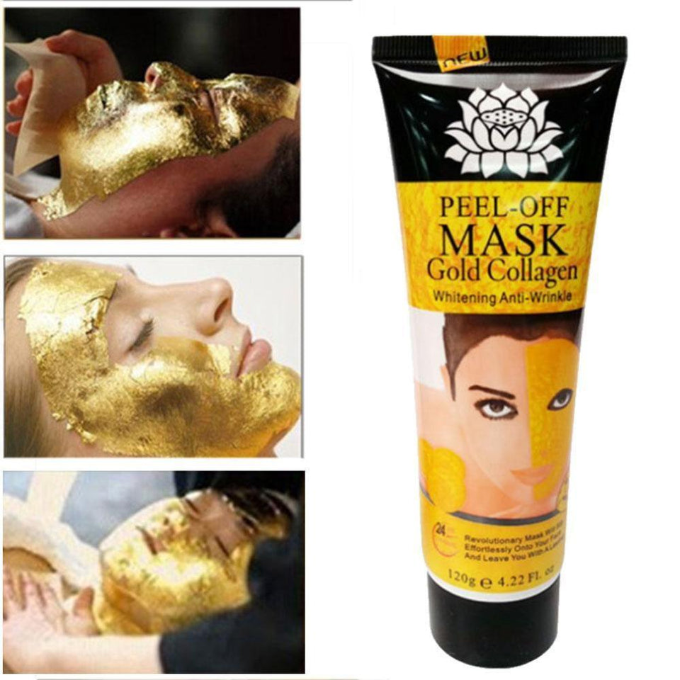 24K Gold Peel Off Mask - Gem Owl