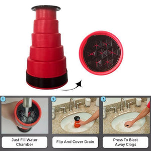Sink Plunger Cleaner - Gem Owl