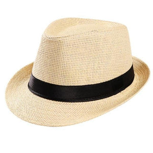 Men's Summer Straw Hats - Gem Owl