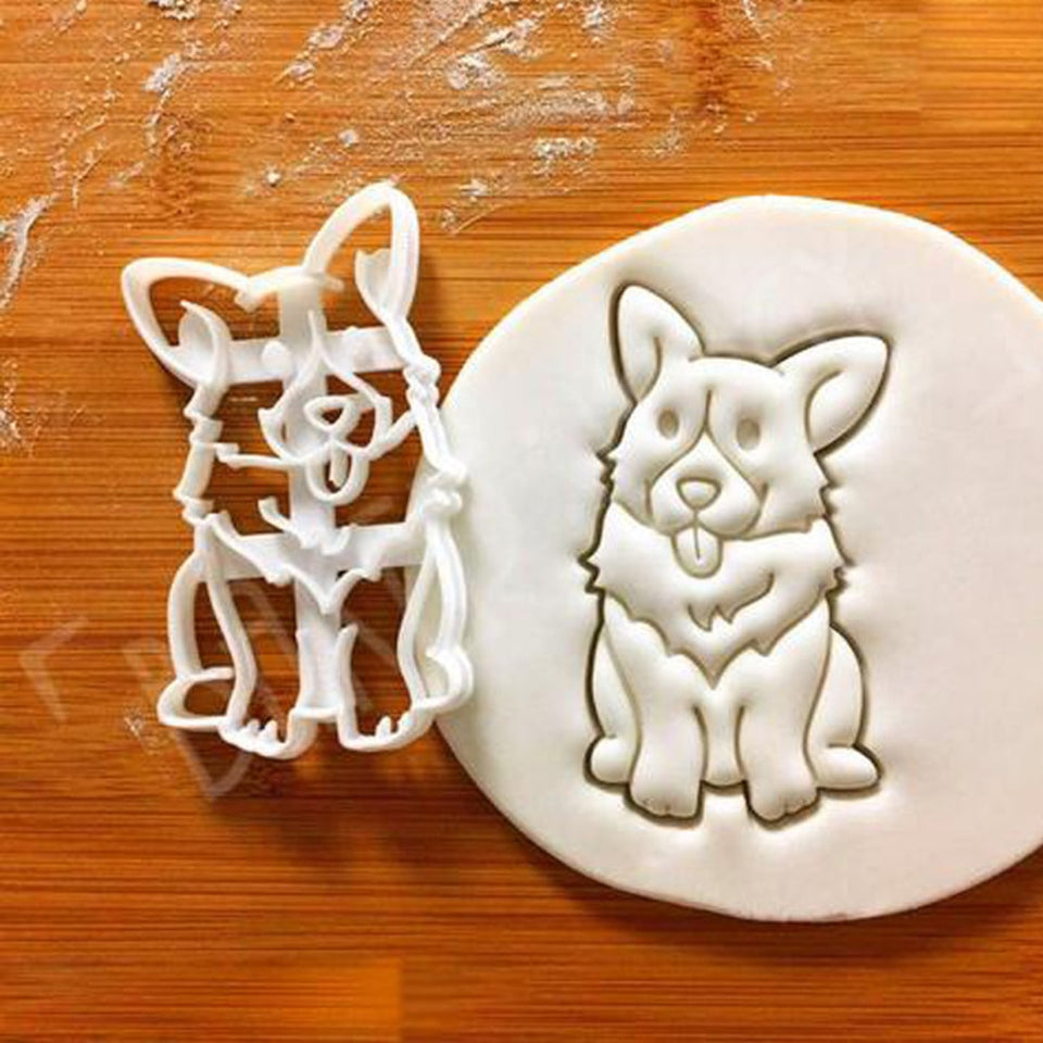 Corgi Shape Cookie Cutter Set - Gem Owl