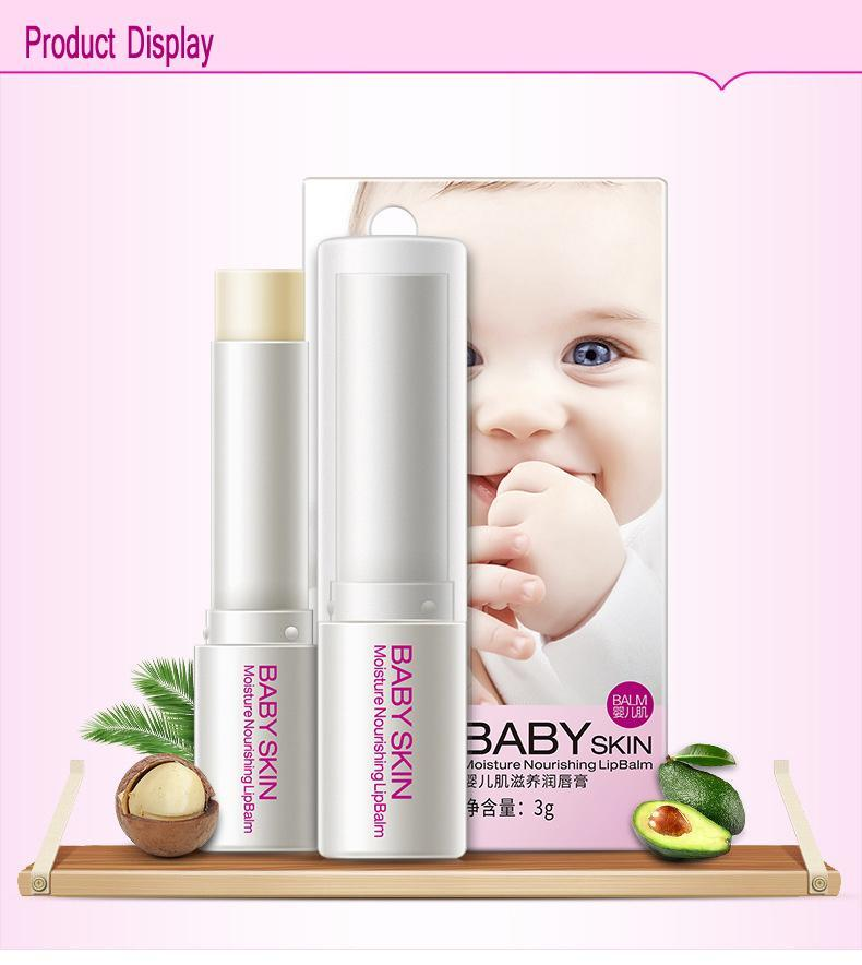 Natural Baby Lipstick - Gem Owl