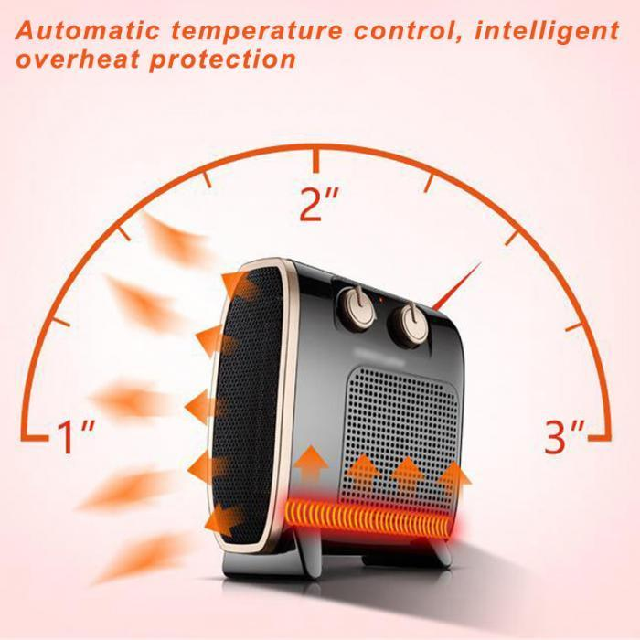 Portable Electric Heater Blower Room Fan - Hot Sale - Gem Owl