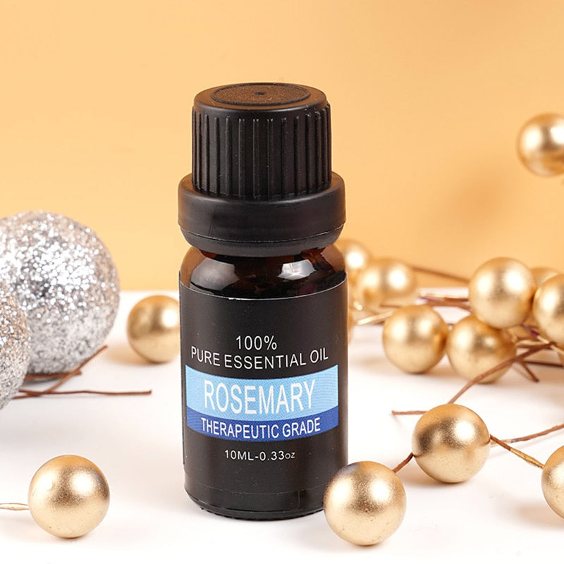 Natural Aromatherapy Essential Oil - Rosemary - Gem Owl