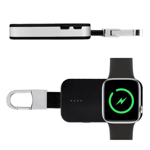 Go-Charge Wireless Smart Watch Power Bank (Compatible W/ Apple Watch 1, 2, 3, & 4) - Gem Owl