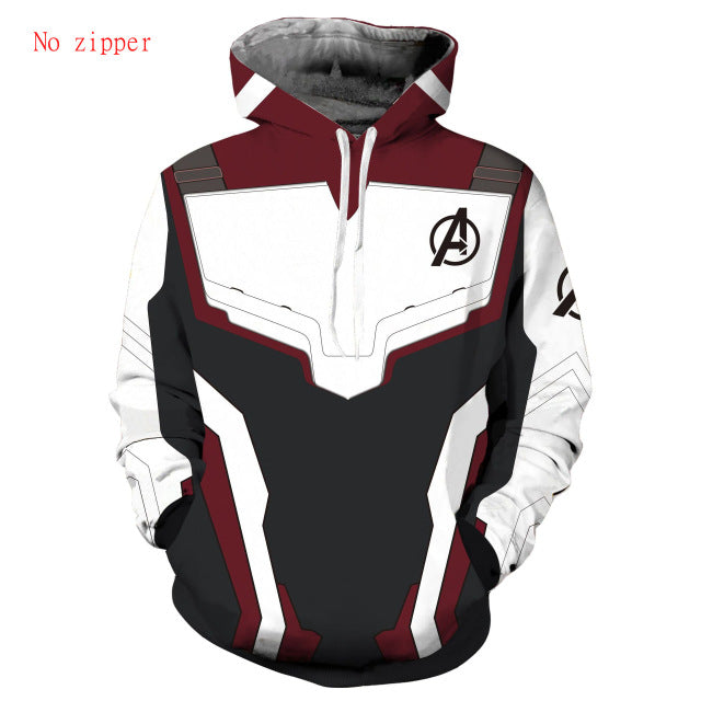 Avengers End Game 'QUANTUM REALM SUIT' Hoodie - Gem Owl
