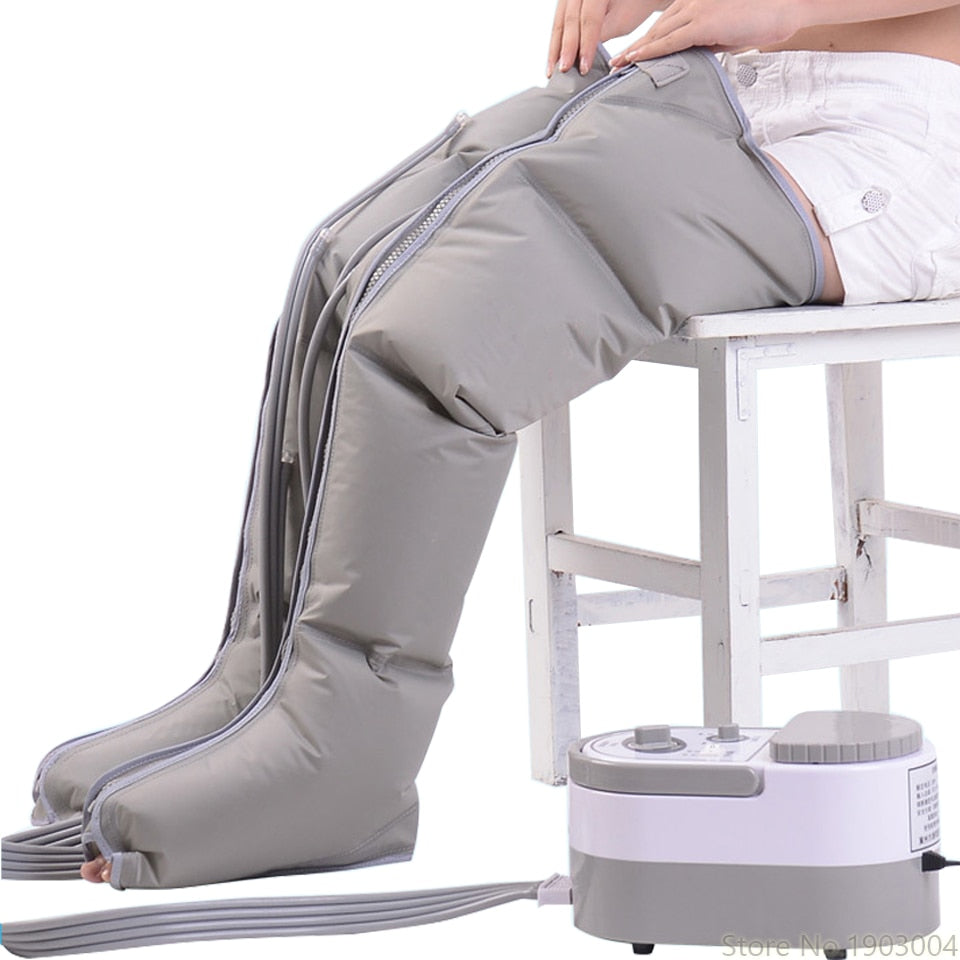 Electric Air Compression Leg Massager - Gem Owl