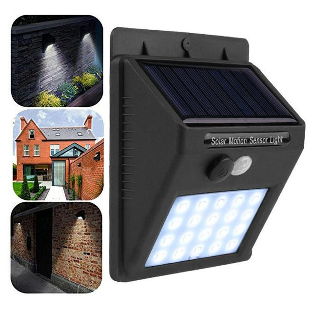 Solar Waterproof Wall Light - Gem Owl