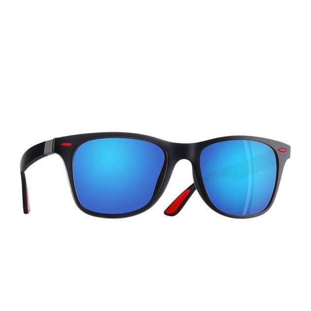Classic Polarized Sunglasses Men Women Driving Square Frame - Gem Owl