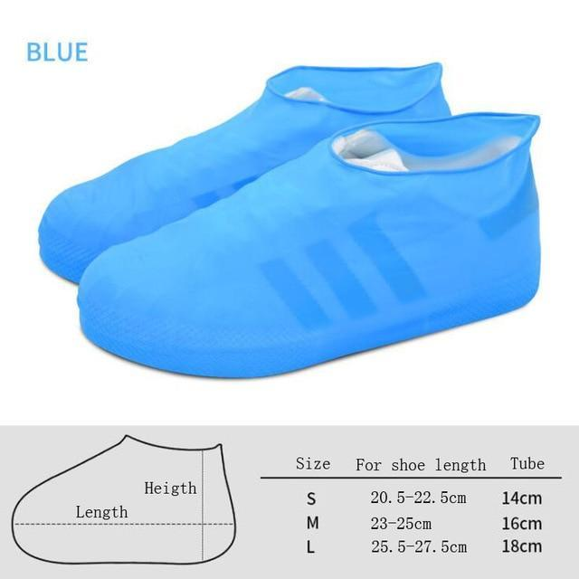 Ultra-elastic Waterproof Latex Shoe Cover - Gem Owl