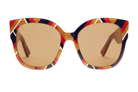 Gucci Square-frame Acetate Sunglasses with Web