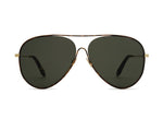 Victoria Beckham Loop Aviator Forest Green