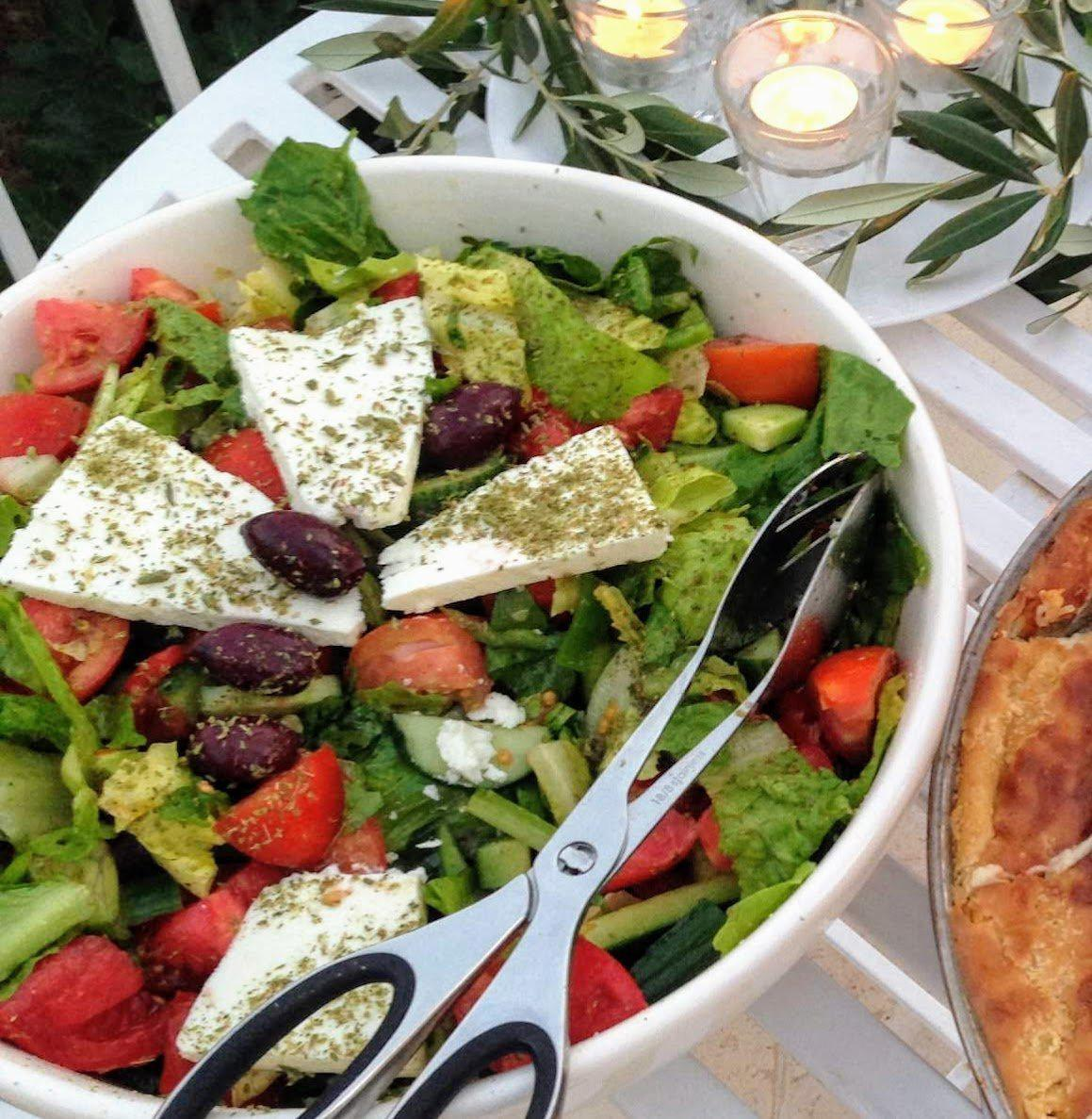 Greek Salad (Horiatiki Salata) 🇬🇷🥗-Fresh Connection
