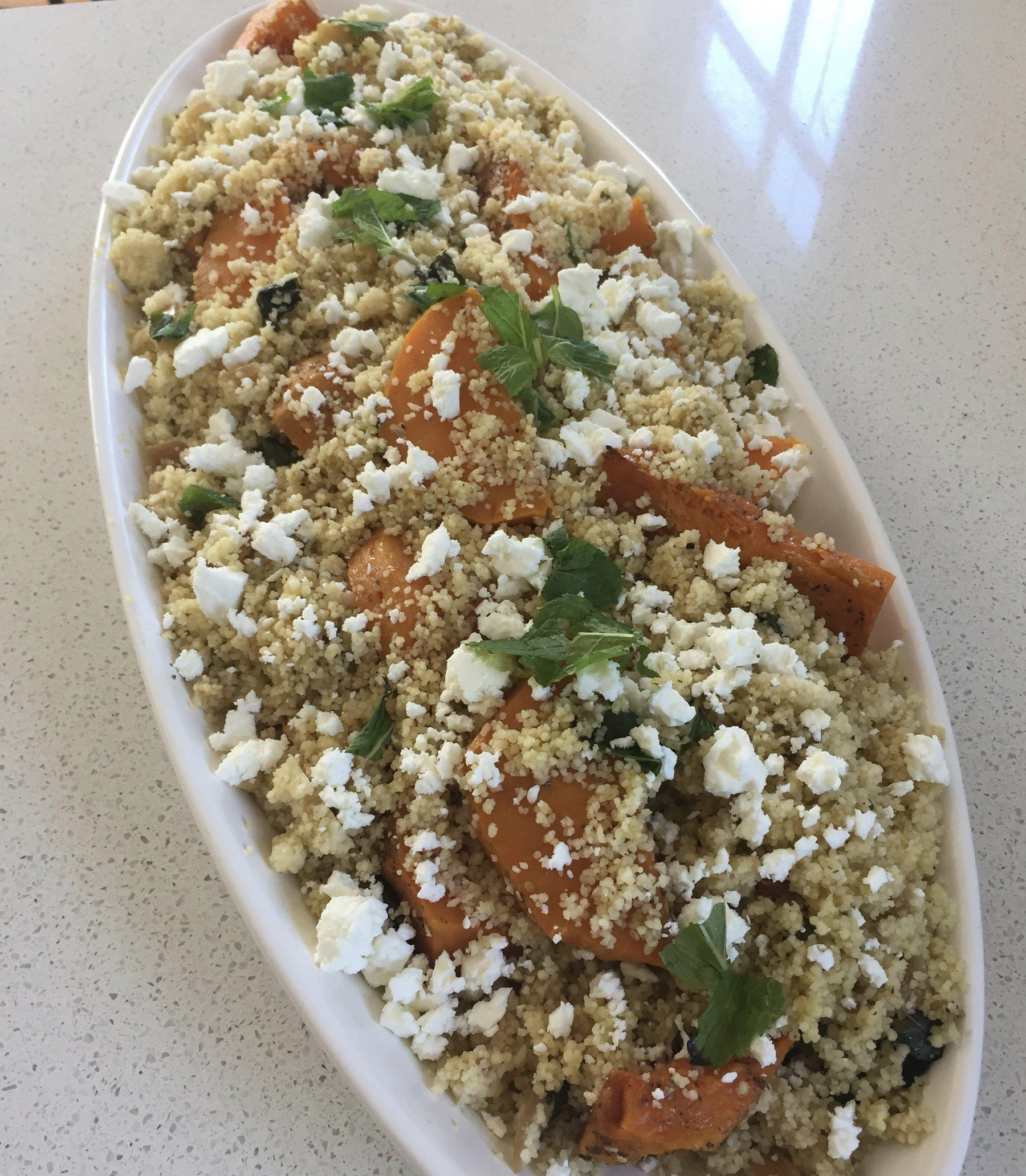 Roast Pumpkin and Couscous Salad-Fresh Connection