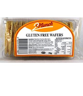 2Munch gluten free wafer thin crackers 100g-Groceries-Quality Food World-Fresh Connection