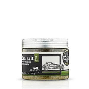 Salt Odyssey Sea Salt with Oregano and Sesame Certified Organic 150g