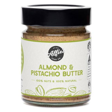 Alfie's Almond & Pistachio Butter 250g-Groceries-Alfie's-Fresh Connection