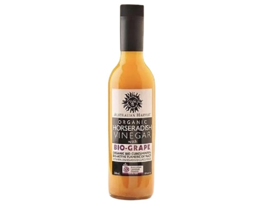 Australian Harvest Organic Horseradish Vinegar 350ml-Groceries-Australian Harvest-Fresh Connection