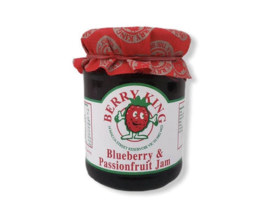 Berry King Blueberry and Passionfruit Jam 300g-Groceries-Berry King-Fresh Connection