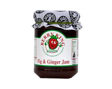Berry King Just Fig and Ginger Jam 310g
