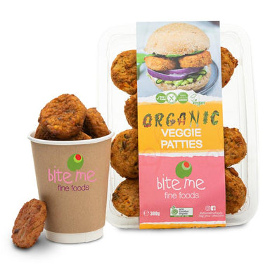 Bite Me Veggie Patties 300g-Groceries-Bite Me-Fresh Connection