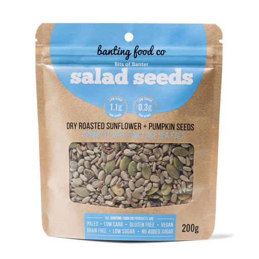Bits of Banter Salad Seeds with Pink Salt 200g-Groceries-Banting Food Co-Fresh Connection