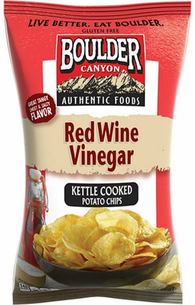 Boulder Canyon Red Wine Vinegar Chips 142g-Groceries-Boulder Canyon-Fresh Connection