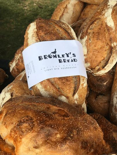 Bromley's Bread Light Rye Sourdough Sliced - 680g-Groceries-Bromley's Bread-Fresh Connection