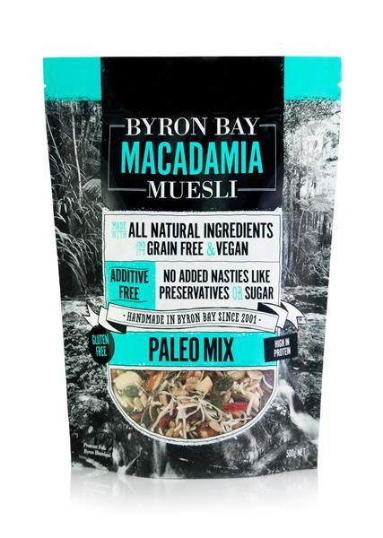 Byron Bay Macadamia Muesli Paleo Mix 500g-Byron Bay Macadamia Muesli-Fresh Connection