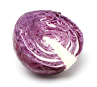 Cabbage - Red (Half)-Fresh Connection-Fresh Connection