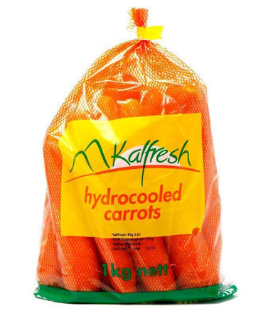 Carrots (1 kg Bag)-Fresh Connection-Fresh Connection