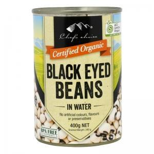 Chef's Choice Black Eyed Beans in Water 400g-Chef's Choice-Fresh Connection