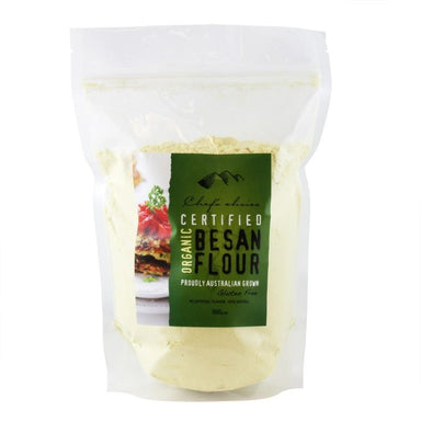 Chef's Choice Certified Organic Besan Flour 500g-Chef's Choice-Fresh Connection