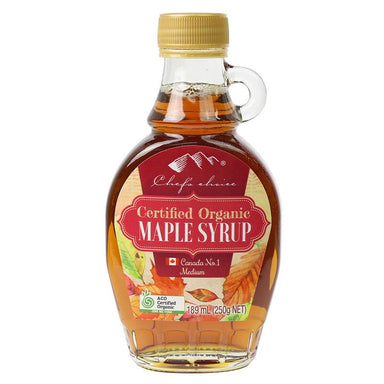 Chef's Choice Certified Organic Maple Syrup 189 mL (250g)-Groceries-Chef's Choice-Fresh Connection