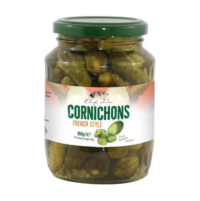 Chef's Choice French Style Cornichons 350g-Chef's Choice-Fresh Connection