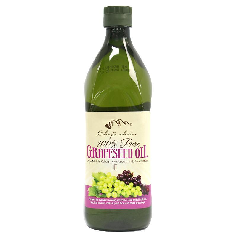 Chef's Choice Grapeseed Oil 1L-Groceries-Chef's Choice-Fresh Connection