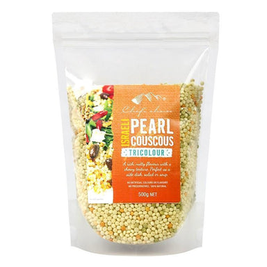 Chef's Choice Israeli Pearl Couscous Tricolour 500g-Chef's Choice-Fresh Connection