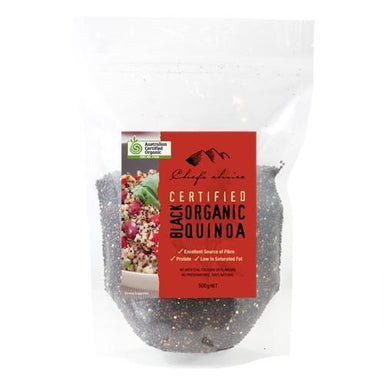 Chef's Choice Organic Black Quinoa 500g-Chef's Choice-Fresh Connection