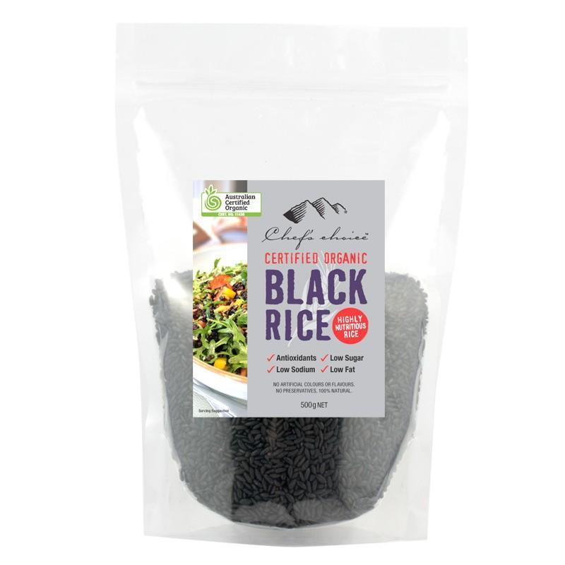 Chef's Choice Organic Black Rice 500g-Chef's Choice-Fresh Connection